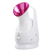 ionic facial steamer - Nano Ionic Warm Mist Facial Steamer Personal Sauna SPA Quality Salon Skin Care Granule Ionic Water Particles face Sprayer Humider