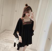 korea fashion blouse - New sexy fashion Korea embroidery party U brought the chiffon blouse