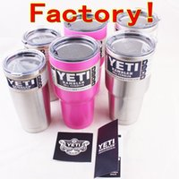 beer cans - 12 oz Yeti Rambler Tumbler YETI Cups Stainless Steel Insulation Mugs Cars Beer Mug with logo colors Can choose