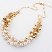 beauty supply jewelry - Korean palace beauty fashion retro pearl necklace exaggerated necklace jewelry supply