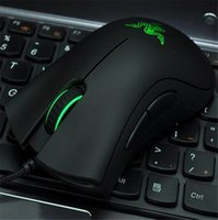 Wholesale 2016 Razer Death Adder Mouse High Quality Gaming Mouse DPI Optical Wired Mouse