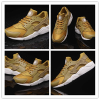 Wholesale Fashion shoes Huaraches Men Women Black Red White Sneakers Breathable Running Shoe New Huaraches size US5