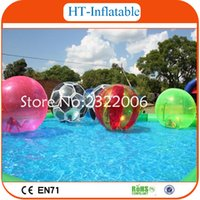 Wholesale Cheap Inflatable Water Walking Ball Transparent Inflatable Water Body Zorb Ball Inflatable Walk On Water