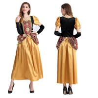 arab costumes - Europe and the United States game uniform exotic Arab woman queen princess role playing Halloween clothing