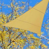 Wholesale Triangle Backyard Awning HeavyDuty Desert Sand Waterproof Canopy Shade Sail