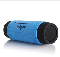 Cheap Zealot S1 Mini Wireless Bluetooth Speaker LED Flashlight TF USB FM Handsfree Sound Box Subwoofer Loudspeakers For Samsung iPhone PC