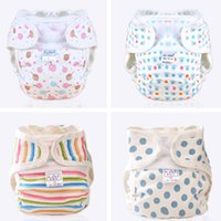 Wholesale Baby Diaper Girls Boys Infant Toddler Diaper Covers Cotton Cloth Diaper Baby Diaper Pants Breathable Comfortable Nappies Diapers