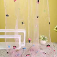 bay window doors - Pastoral cm cm Curtains Heart and Balloon Room Door Bay Window Curtains