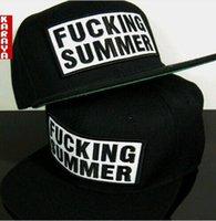 artificial swags - SUMMER Letter HIP HOP cap flat Baseball Cap women snapback cap men polo swag Unisex hats Sun Hat Adjustable Adult hat