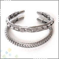 best fittings - Demon Killer Vaper Bracelet Awesome Electronic Cigarette Accessory Best Cool Design fit Vaping L Silver Color Handmade DHL Free