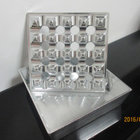 Wholesale Cigar Accessories Cigar Smoking Tool holes silver cigar ashtray