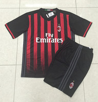 Wholesale DHL shipping AC milan soccer jersey Top thai quality AC milan home soccer uniforms AC milan soccer football jersey and shirt