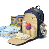 Wholesale 8 Colors Functional Maternity Backpack Baby Diaper Bags Nappy Changing Bags For Travel Mother Mummy With Big Capacity