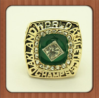 athletic championships - For Oakland Athletics A s Major League Baseball Championship Ring Solid Souvenir Gold Plated Alloy Rings For Men