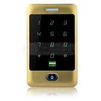 Контроллер доступа дверного звонка Кнопка RFID считыватель карт Сенсорная панель Подсветка клавиатуры Пароль Металлические 8000 Пользователи C30