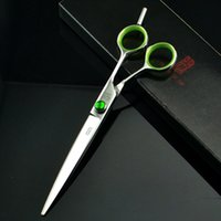 Wholesale 7 inch KASHO Hair Cutting Scissors Hair Shears Barber Scissors Hairdressing Scissors made of SUS440C