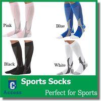 Wholesale 2016 Women Men Leg Support Stretch Magic Compression Socks Performance Sports Running Sock pairs