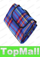 Wholesale LAI Quality Red quot X quot Waterproof Outdoor Picnic Camping Moistureproof Mat Plaid Blanket