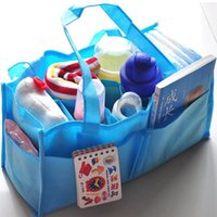Wholesale 2016 Brand New Diaper Bags For baby Fashion mummy bag Multifunctional bottle bag high capacity Baby Products