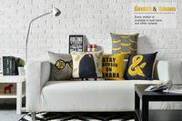 banana body art - Stay Focus on Banana Yellow Monkey Love Pop Art Bedding Massage Decorative Pillow Case Cover Euro Pillows Art Home Decor Gift