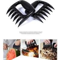 Wholesale Set Of Meat Claws Portable Handler Fork Tongs Pull Shred Pork Poultry Beef BBQ Barbecue Tool Food Grade BBQ tools Bear Paws