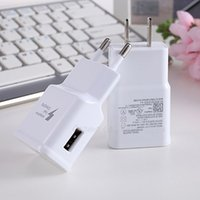 Wholesale 100 real v a V a EU US fast charger usb home wall charger adapter fit for v V with US and EU plug for samsung s6 note