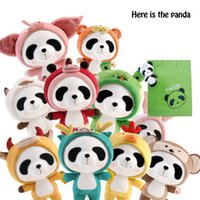 Wholesale Unisex Plush Toys Doll Panda Kawaii Plush Toys For Children Mini Stuffed Animals Baby Dolls Birthday Gift