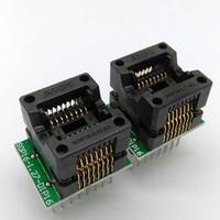 Wholesale 2 SOP16 mil Programming Socket OTS IC Test Socket Conversion Block Programmer Adapter Plug