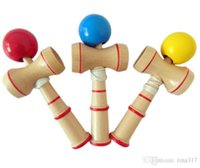 Wholesale New Funny Japanese Wood Wooden Toys Traditional Wood Game Toy Kendama Ball Education Gifts Intelligence toys