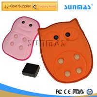 Wholesale SUNMAS Massager Health Care SM9218 Hot Pillow On Sofa Chair Magic Electric Back Massager For Back Pain
