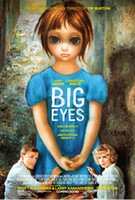 big movie posters - quot X30 quot inch Hot Sale Big Eyes Movie The human body art Poster Custom ART PRINT
