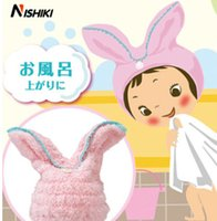 Wholesale Dry hair cap super absorbent dry towel thickening bath cap hooded scarf children wiping hair dry towel