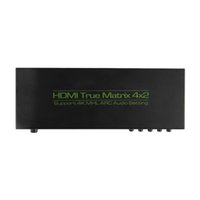audio matrix switch - New HDMI Matrix Switch x2 Support k K UHD D ARC HIFI Optical Audio Remote