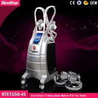 Wholesale 3 Years Warranty Cryolipolysis Slimming with Four Handles Cryo Criolipolisis Machine Cryo therapy Vacuum Zeltiq Coolsculpting Machine