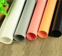 Wholesale PVC solid color background plate Photograph Prop background cloth reflect light cloth shoot Prop