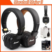 Wholesale Marshall Major Headset Deep Bass DJ Hi Fi Headphones HiFi Earphones Professional DJ Monitor Headphones noise cancelling