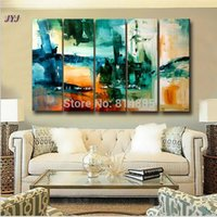 artists for life - Artist Handmade Modern Abstract Oil Painting Canvas Wall Art Painting For Living Room Home Decoration J