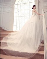 Wholesale Charming Long Wedding Dresses Tiered Organza Sweetheart Cheap Stockings Bridal Gowns Floor length Lace Up Bride Dress