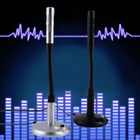 Wholesale New USB Desktop Microphone MIC for PC Laptop Chatting Degree Adjustable Promotion