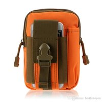 Precio de Bolsas de bolsillos-2016 Tactical Molle bolsa bolsa de la cintura de la cintura paquete de bolsillo para teléfono Military Waistpack