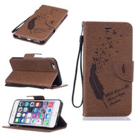 apple bird - For Iphone Plus S Plus SE S Ipod Touch Feather Bird Emboss Cover Fashion Wallet Leather Moto G4 Plus Pouch Flip Cover Strap