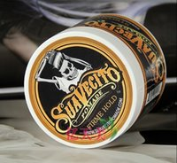 Wholesale Free DHL Suavecito Pomade Strong style restoring Pomade Hair wax big skeleton hair slicked back hair oil wax mud keep hair pomade men
