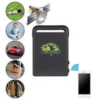 Cheap 2016 New Arrival Car Person Pet GPS Tracker TK102B Car Vehicle GSM Mini GPS Tracker Vehicle Tracking Locator Real-Time tracking Black