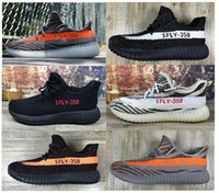 beluga shipping - With Box Boost V2 SPLY Beluga Grey Red High quality Men Women Size