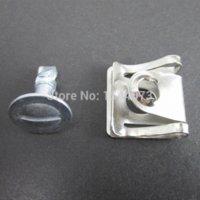 audi engine cover - 5xSet Under Engine Cover Undertray Kit Screw Metal Clips Fit For Audi VW PASSAT D0805121 screw tip