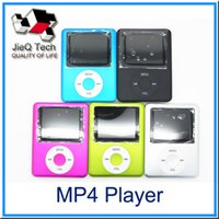 cartes vidéo musicales achat en gros de-Ultra-Haute Qualité MP4 MP3 Multi Media Video Player Music Player LCD Screen Support Radio FM sans carte de TF Avec Retail Box DHL gratuit