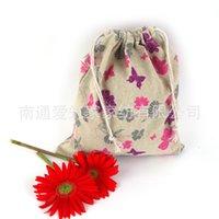 az bag - Limited New Lapices Estuches School Pen Case Cotton Bags Cloth Tote Bag Butterfly Folding Drawstring cm Az