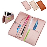 Wholesale Wallet type mobile phone case Orbit Flex Mobile phone protective sleeve double bag Universal type