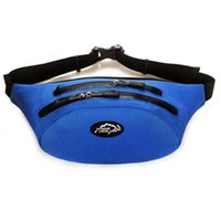 Wholesale Outdoor Multifunction Waterproof Fanny Pack Belt Bag Hiking Climbing Outdoor Bumbag Waist Packs