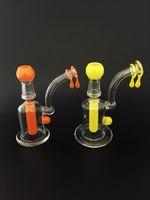Новый цвет Классические Стеклянные нефтяных вышек Стеклянные Dab Rigs Водопроводные трубы с 3 отверстиями Diffy с импортными США Цветные Rods Honey Drip